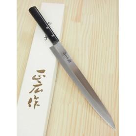 Cuchillo Japonés Yanagiba - MASAHIRO - Serie Masahiro Inoxidable - Tam: 24 / 27cm