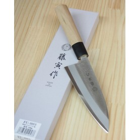 Faca japonesa deba FUJITORA Série MV Tam:15/16,5/18cm