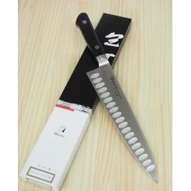 Cuchillo Japonés Gyuto con hoyuelos - MISONO - Serie Molibdeno - Tam: 18 / 21 / 24 / 27 / 30cm