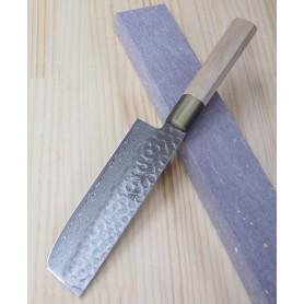 Faca japonesa nakiri SAKAI TAKAYUKI - Damascus 45 camadas - Tam: 16,5cm