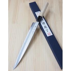 Faca japonesa yanagiba MIURA Série tokujo - Tam: 27/30cm