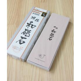Piedra para afilar solamente acero inoxidable - NANIWA - 1.000 arena - Serie Sakaiden Watoishi