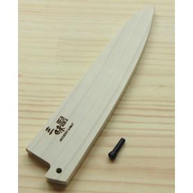 Bainha - Saya de madeira para faca do chef gyuto 18/21/24cm ZANMAI
