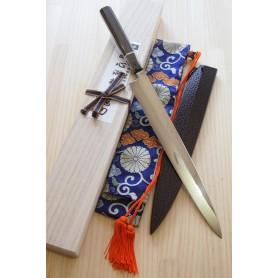 Cuchillo Japonés Yanagiba - SUISIN - Fuji Honyaki - Tam: 30cm