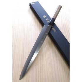 Faca japonesa yanagiba SUISIN Blue steel no.2 com afiação especial HONBAZUKE by Tatsuya Aoki Tam: 27/30cm