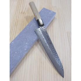 Cuchillo Japonés Gyuto - SAKAI TAKAYUKI - Serie Wagyuto 17 Capas Damasco - Acero Inoxidable Warikomi - Tam: 21 / 24cm