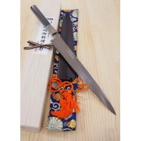 Cuchillo Japonés Yanagiba - SUISIN - Serie Special Shiro 1 - Tam: 30cm