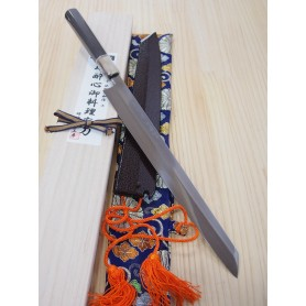 Cuchillo Japonés Kengata Yanagiba - SUISIN - Serie Special Shiro 1 - Tam: 30cm