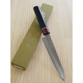 Cuchillo Japonés Petty - MIURA KNIVES - Serie Aka Tsuchime VG10 - Tam: 15cm