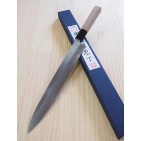Faca japonesa yanagiba MIURA Série molybdenum para canhotos - Tam:27cm