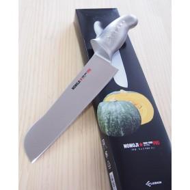 Cuchillo para verduras grandes (calabaza, sandía, acelga) - NONOJI - Mango Egg-shell - Tam: 21cm