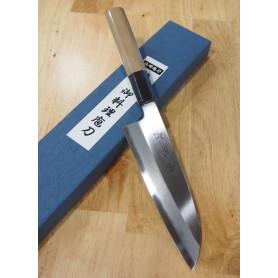 Faca japonesa santoku SUISIN Blue steel no.1 by Kenji Togashi Tam:18cm