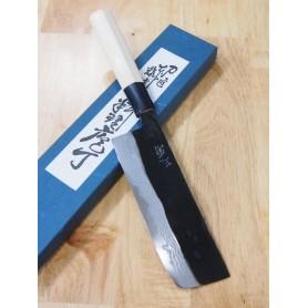 Faca japonesa nakiri MIURA White steel 2 damascus Tam:16cm